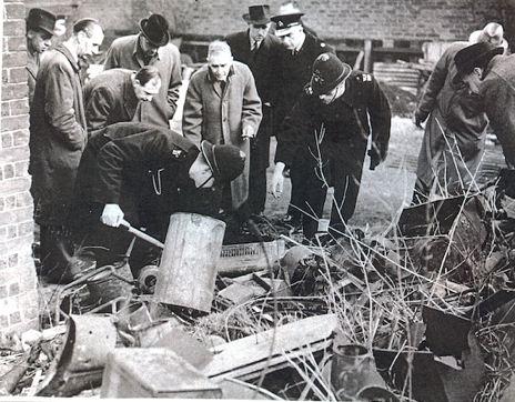 Police investigation of the Acid Bath murders after apprehending John Haigh in 1949