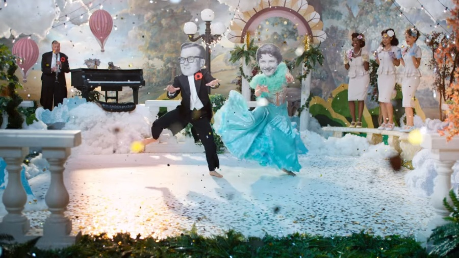 Dancing in heaven as imagined by Kirsten Johnson in Dick Johnson is dead